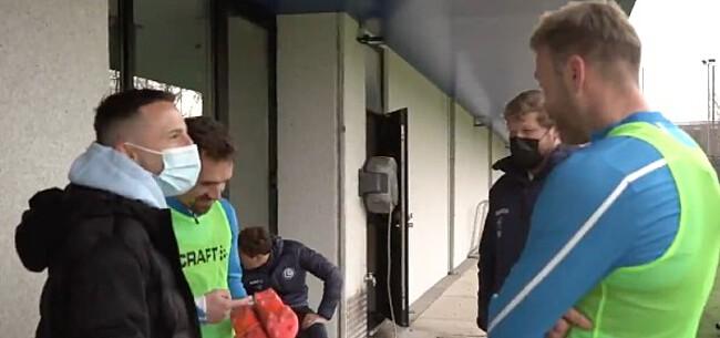 Foto: Bekend gezicht duikt op bij training AA Gent