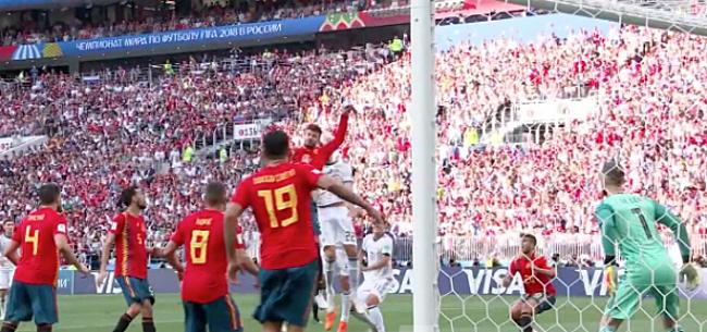 Foto: Video: Rusland langs Spanje na bedenkelijke penalty