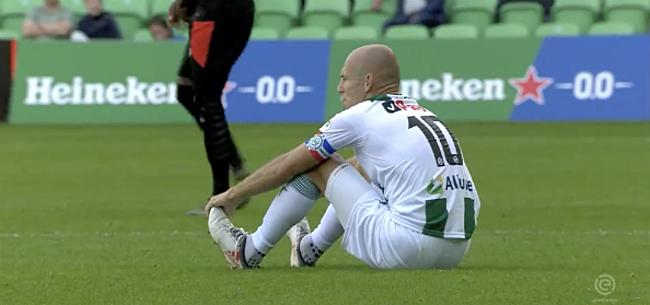 Foto: Geblesseerde Robben geeft niet op: