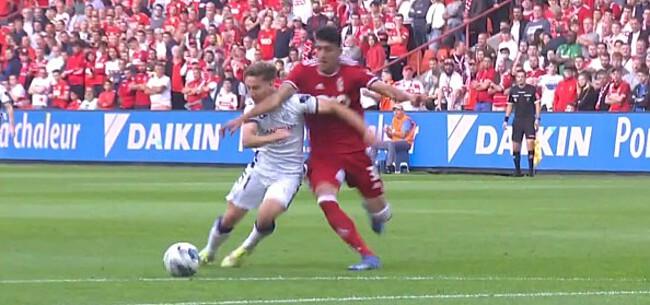 Foto: Verheyen oordeelt over rode kaart in Standard-Anderlecht