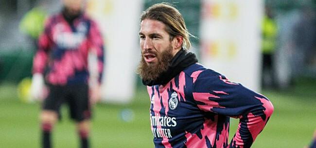 Foto: Ramos spreekt zich uit over contractsituatie bij Real Madrid