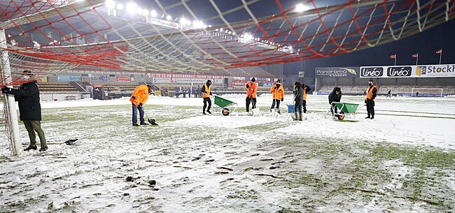 Foto: 'Pro League wil ingrijpen: geen sneeuwpartijen meer'
