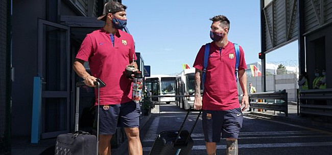 Foto: Suarez ongerust over Messi: