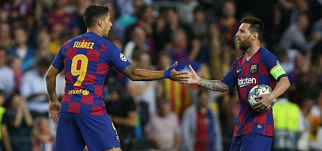 Foto: 'Crisisvergadering in Barcelona, Suarez en Puyol steunen Messi'