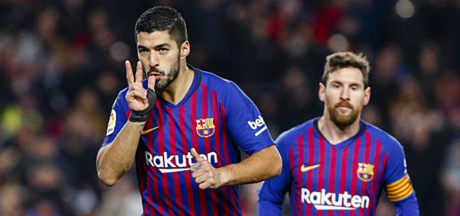 Foto: 'Suárez bezorgt FC Barcelona aangename verrassing'