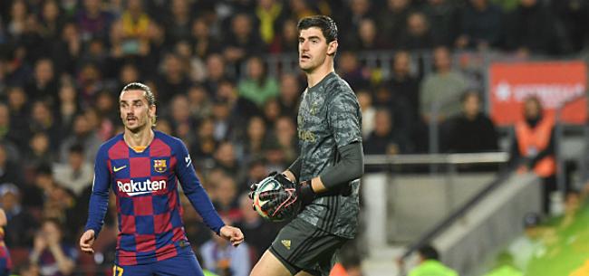 Foto: Courtois daagt FC Barcelona opnieuw uit: