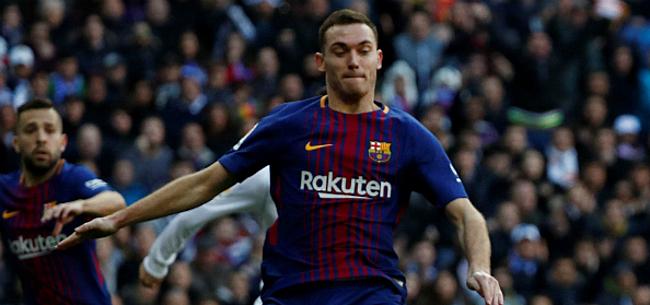 Foto: 'Valverde ziet belangrijke rol voor Vermaelen in Barça-project'
