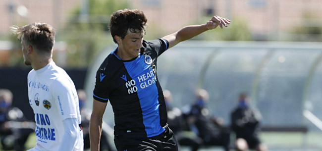 Foto: Youngster maakt indruk in vijfklapper Club Brugge