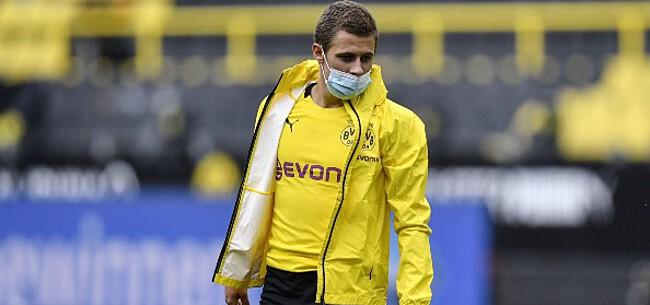 Foto: Dortmund komt met uitstekend nieuws over Thorgan Hazard
