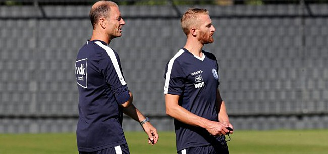 Foto: Thorup hakt knopen door rond type-elftal AA Gent