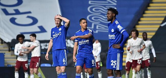 Foto: Leicester geeft alles uit handen na knappe goal Tielemans