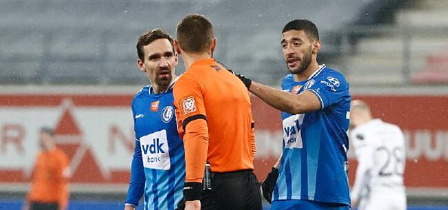Foto: AA Gent bijt van zich af tegen