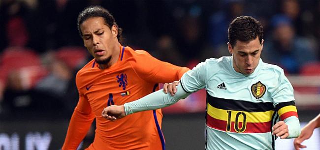 Foto: Oranje geeft Duivels al vóór EURO 2020 pijnlijk het nakijken