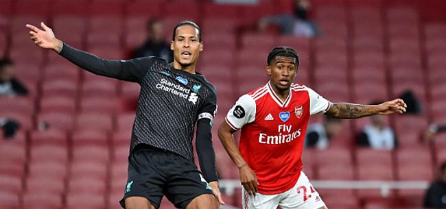 Foto: Blunders Van Dijk en Alisson bezorgen Arsenal de zege