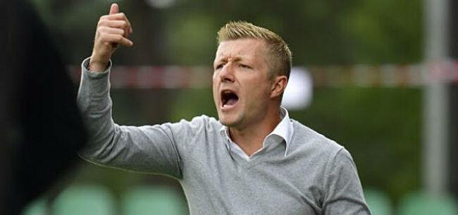 Foto: Coach van Lierse ongemeen hard: