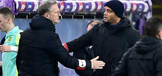 Foto: Van den Brom prikkelt Anderlecht met rake uitspraak