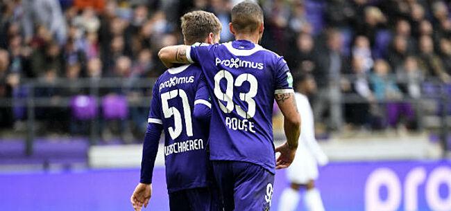 Foto: 'Roofe hakt knoop door over vertrek bij Anderlecht'
