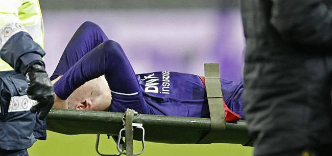 Foto: Pech achtervolgt Anderlecht: Delcroix al vijfde slachtoffer