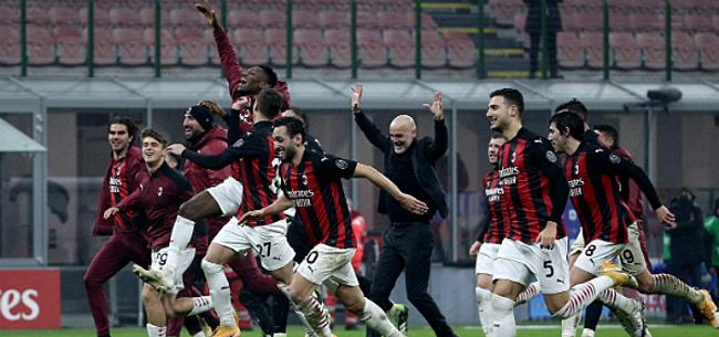 Foto: AC Milan mag na penaltythriller naar laatste acht Coppa Italia