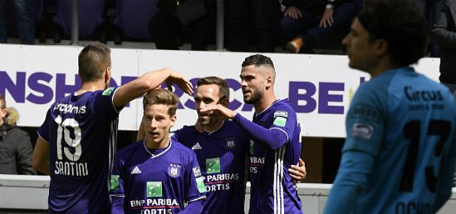 Foto: 'Anderlecht aan het werk: twee spitsen in de weegschaal'