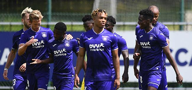 Foto: Anderlecht heeft eerste zege beet: STVV in twee mini-duels geklopt