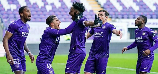 Foto: 'Anderlecht krijgt transferboost voor volgend seizoen'