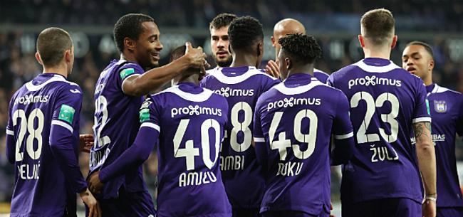 Foto: 'Opvallende afwezige bij Anderlecht: vertrek lijkt in de maak'