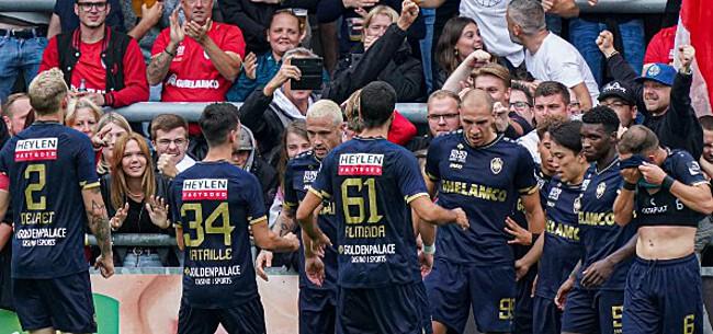 Foto: Antwerp geeft ambities in Europa League prijs