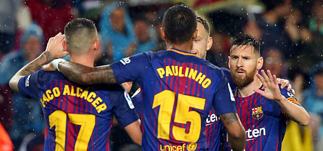 Foto: Barça mag hopen: