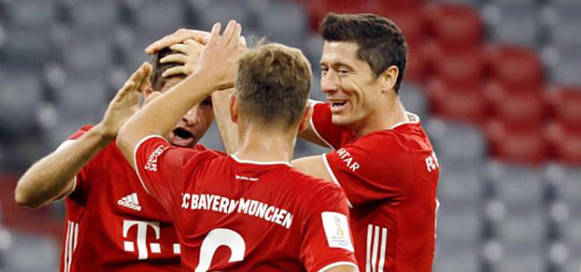 Foto: Bayern pakt vijfde trofee in 2020 na bizar doelpunt