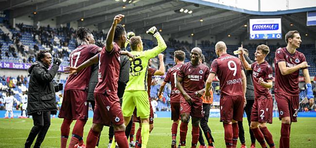 Foto: Club Brugge kan dankzij zege in Genk mooi record breken