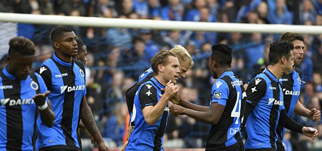 Foto: 'Concurrentie neemt toe, Club Brugge heeft streepje voor'