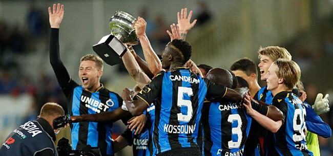 Foto: Club Brugge: ondanks vertrek Kossounou de absolute titelfavoriet