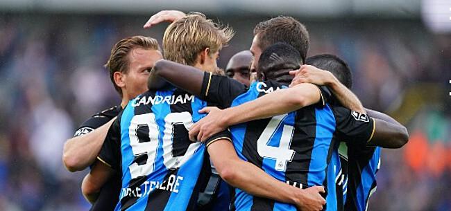 Foto: 'Club Brugge krijgt flinke opsteker voor clash met PSG'