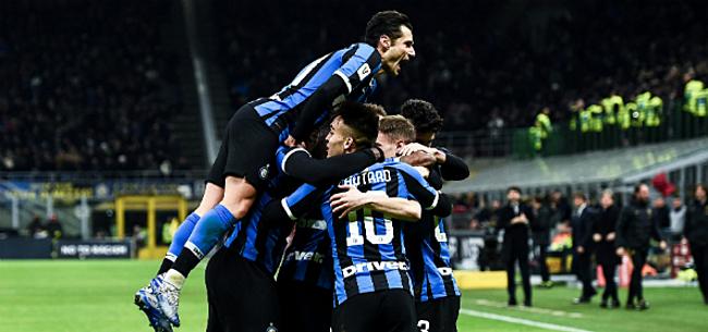 Foto: 'Internazionale staat dicht bij spectaculaire dubbelslag'