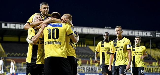 Foto: Lierse zet prima start voort met zege tegen youngsters Club