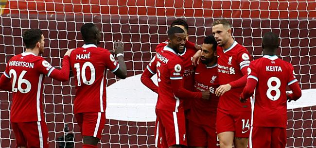 Foto: Liverpool blijft in extremis steken op gelijkspel bij Brighton