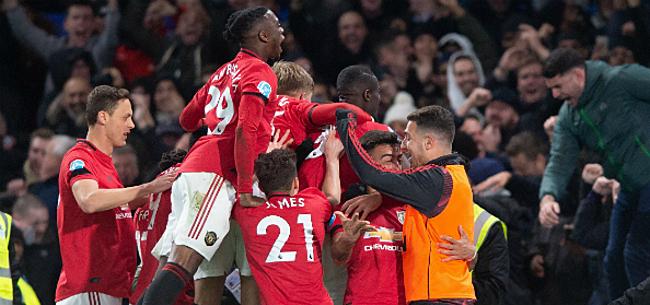 Foto: Manchester United en AS Roma: bijna 1,3 miljard euro