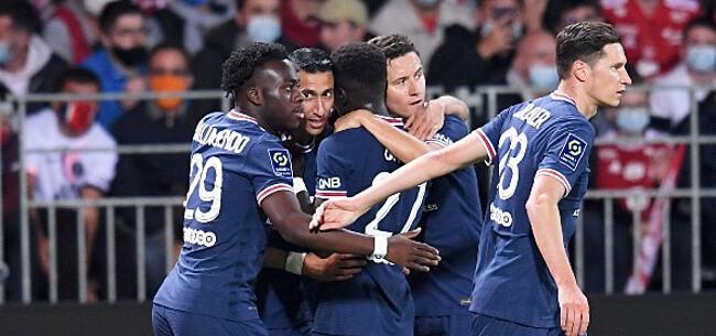 Foto: PSG-sterren zwaaien met lof naar Club Brugge