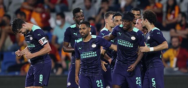 Foto: PSV knikkert Galatasaray kansloos uit Champions League