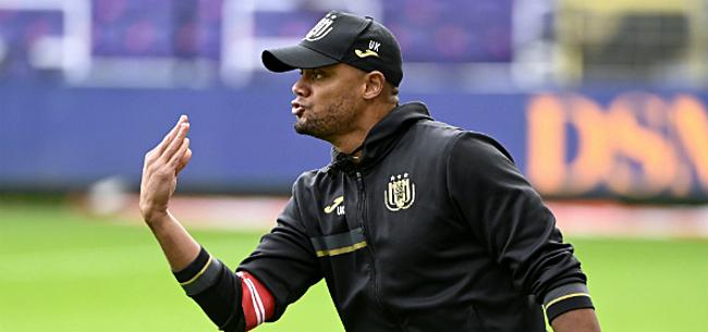 Foto: 'Kompany zit met grote probleempositie bij Anderlecht'