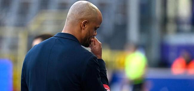 Foto: Fans Anderlecht ondernemen actie: