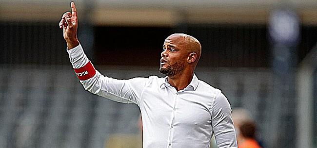 Foto: Kompany zet deur open voor surprise bij Anderlecht