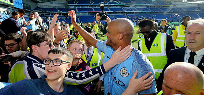 Foto: 'Manchester City geeft jacht op Kompany niet op'