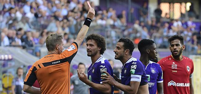 Foto: Topref fluit Anderlecht-Club, ook andere scheidsrechters bekend