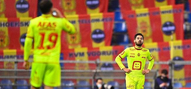 Foto: KV Mechelen in zak en as:
