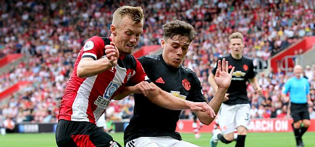 Foto: United lijdt duur puntenverlies tegen tienkoppig Southampton