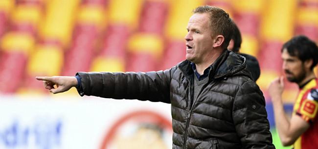 Foto: Vrancken reageert na zure nederlaag KV Mechelen
