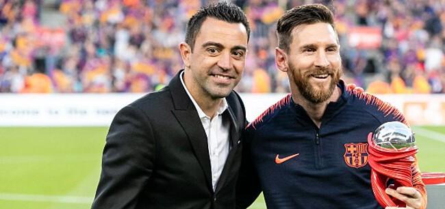 Foto: Xavi voedt zelf geruchten over Barça-comeback