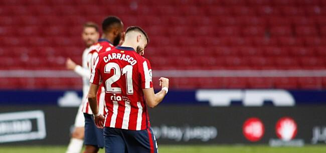 Foto: Atlético kan titel ruiken na cruciaal doelpunt Carrasco